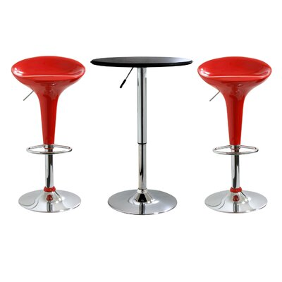 "No credit check financing 25"" AmeriHome Bar Stool Set..."