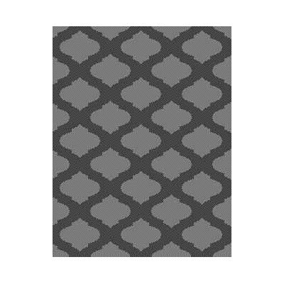 Gray Indoor/Outdoor Area Rug Rug Size: Round 710
