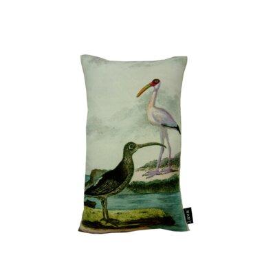 2 Shore Birds Lumbar Pillow