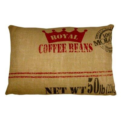Coffee Lumbar Pillow