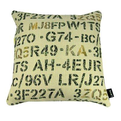 Stencil Throw Pillow