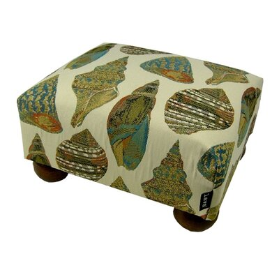 Beautiful Shells Ottoman