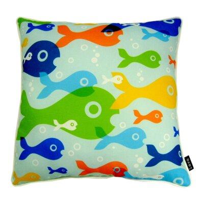 Fish Eyes Indoor/Outdoor Throw Pillow