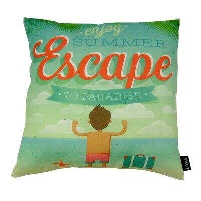 Escape Indoor/Outdoor Throw Pillow