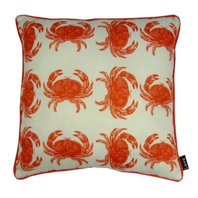 Crabbing Indoor/Outdoor Throw Pillow