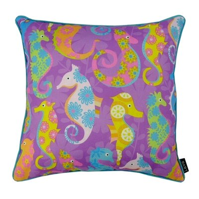 Many Seahorses Indoor/Outdoor Throw Pillow