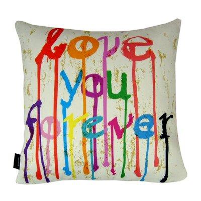 Kisses Indoor/Outdoor Throw Pillow