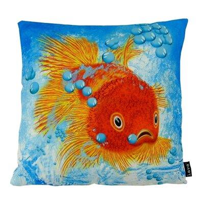 Fish Fins Throw Pillow