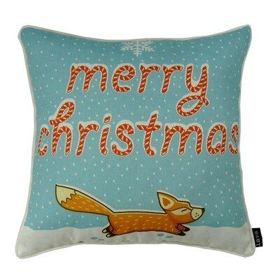 Fox Indoor/Outdoor Throw Pillow