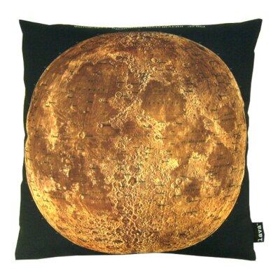 Moon Map Throw Pillow
