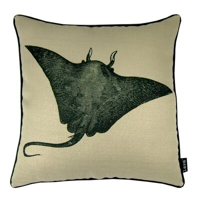 Sting Ray Indoor/Outdoor Throw Pillow