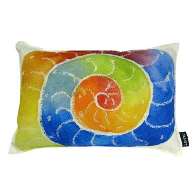 Shell Swirl Indoor/Outdoor Lumbar Pillow