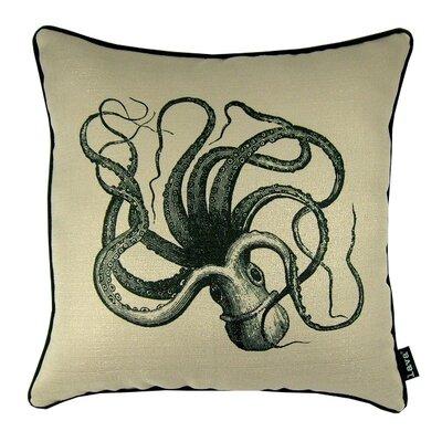Squid Indoor/Outdoor Throw Pillow