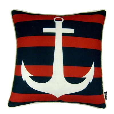 Anchor Stripe Indoor/Outdoor Throw Pillow