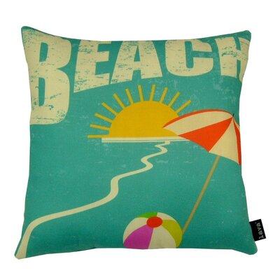 Beach Indoor/Outdoor Throw Pillow