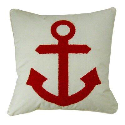 Anchor Synthetic Fabric Throw Pillow
