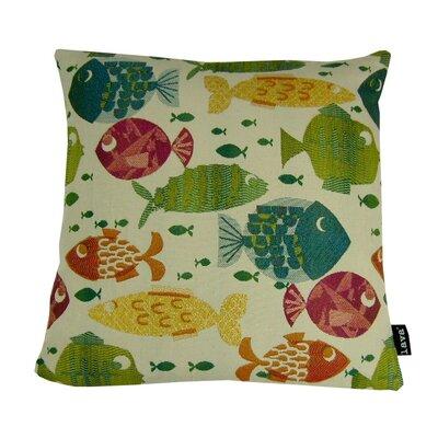 Somethings Fishy Throw Pillow