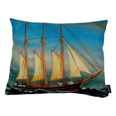 O Ship Indoor/Outdoor Lumbar Pillow