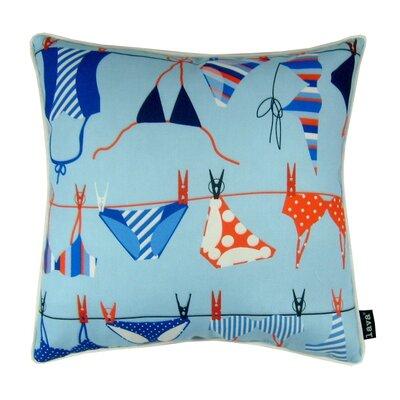 Swim Suits Indoor/Outdoor Throw Pillow
