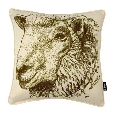 Sheep Eng Throw Pillow