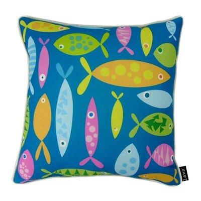 Fishing Around Throw Pillow
