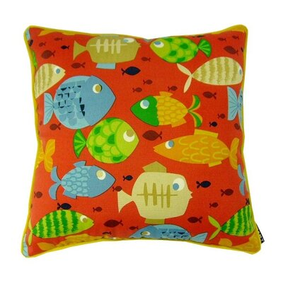 Its Fishy Throw Pillow