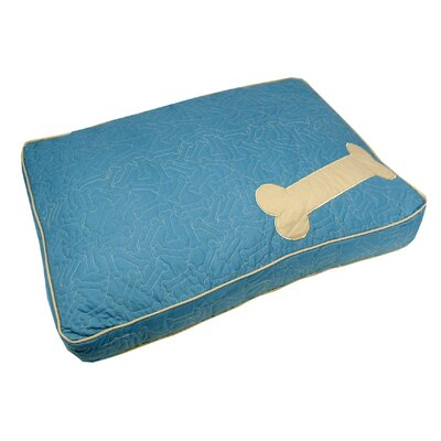 Treats Boxed Pet Bed Color: Blue