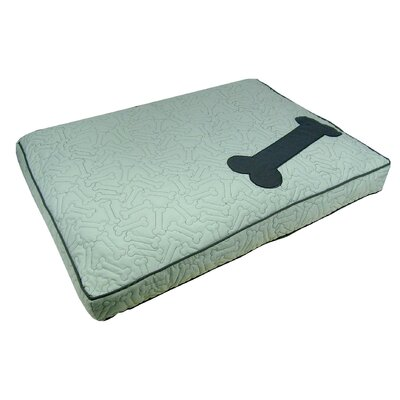 Treats Boxed Pet Bed Color: Spa