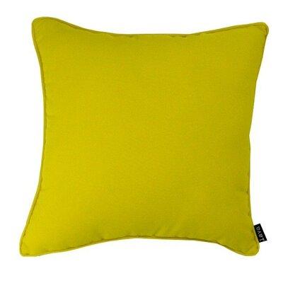 Fire M Throw Pillow Color: Sun