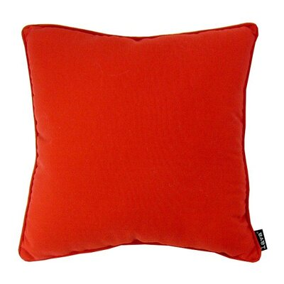 Fire M Throw Pillow Color: Fire