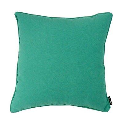 Fire M Throw Pillow Color: Jade