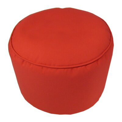 Pouf Upholstery: Logo Red