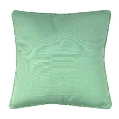 Bellevue Indoor/Outdoor Sunbrella Throw Pillow Color: Glacier
