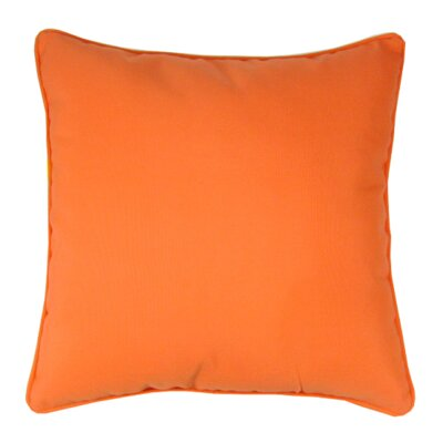 Bellevue Indoor/Outdoor Sunbrella Throw Pillow Color: Melon