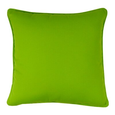 Bellevue Indoor/Outdoor Sunbrella Throw Pillow Color: Macaw