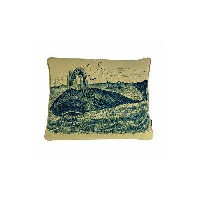 Whale at Sea Lumbar Pillow