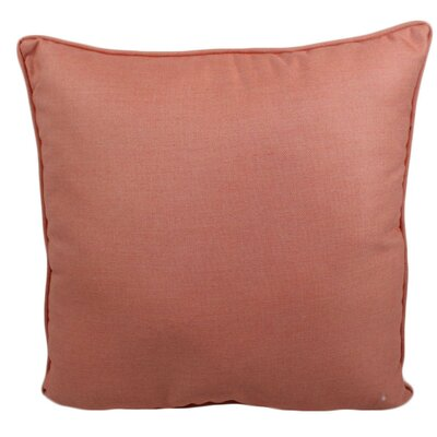 Ravinia Outdoor Throw Pillow Color: Guava
