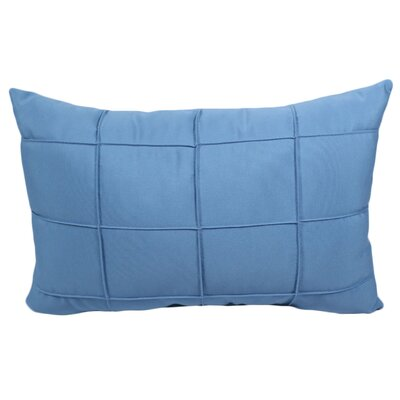 Pendergraft Outdoor Lumbar Pillow Color: Mineral Blue