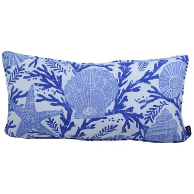 Cisneros Shells Outdoor Lumbar Pillow