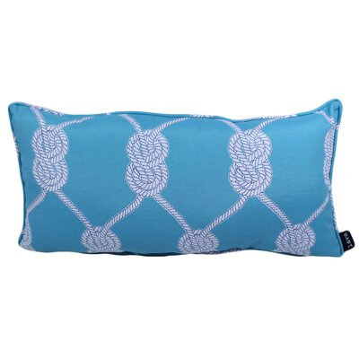 Worsham Knot Outdoor Lumbar Pillow