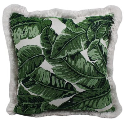 Halfmoon Tropical Jungle Outdoor Throw Pillow