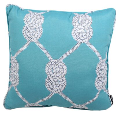 Worsham Knot Outdoor Throw Pillow