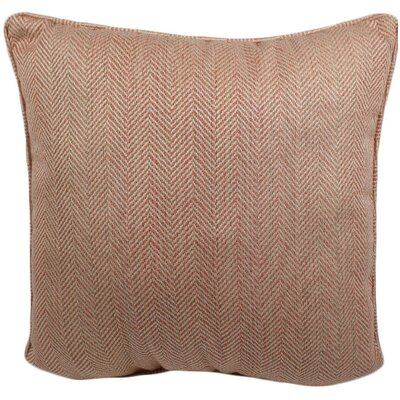 Hulcott Outdoor Throw Pillow Color: Coral