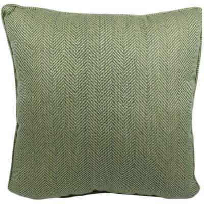 Hulcott Outdoor Throw Pillow Color: Shamrock