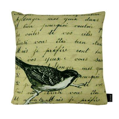 Bird Indoor/Outdoor Throw Pillow