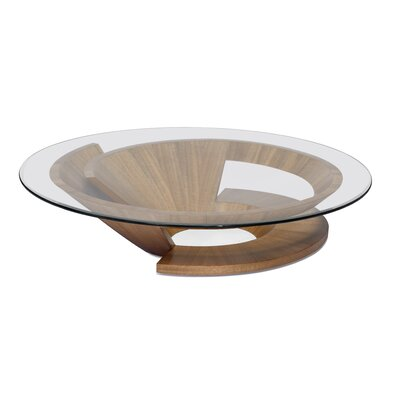 Nautilus Coffee Table Base Color: Dao