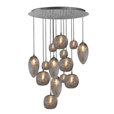 Cosmos 14-Light Cascade Pendant