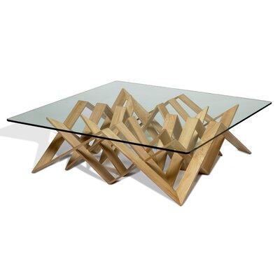 Futura Coffee Table Base Finish: Natural Wenge