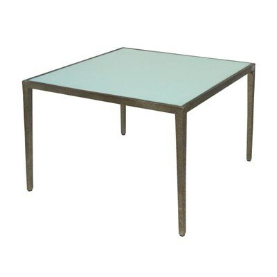 Strip Occasional End Table Finish: White