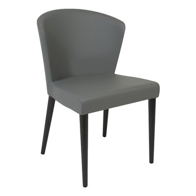Verona Parsons Chair Finish: Wenge, Upholstery: Gray